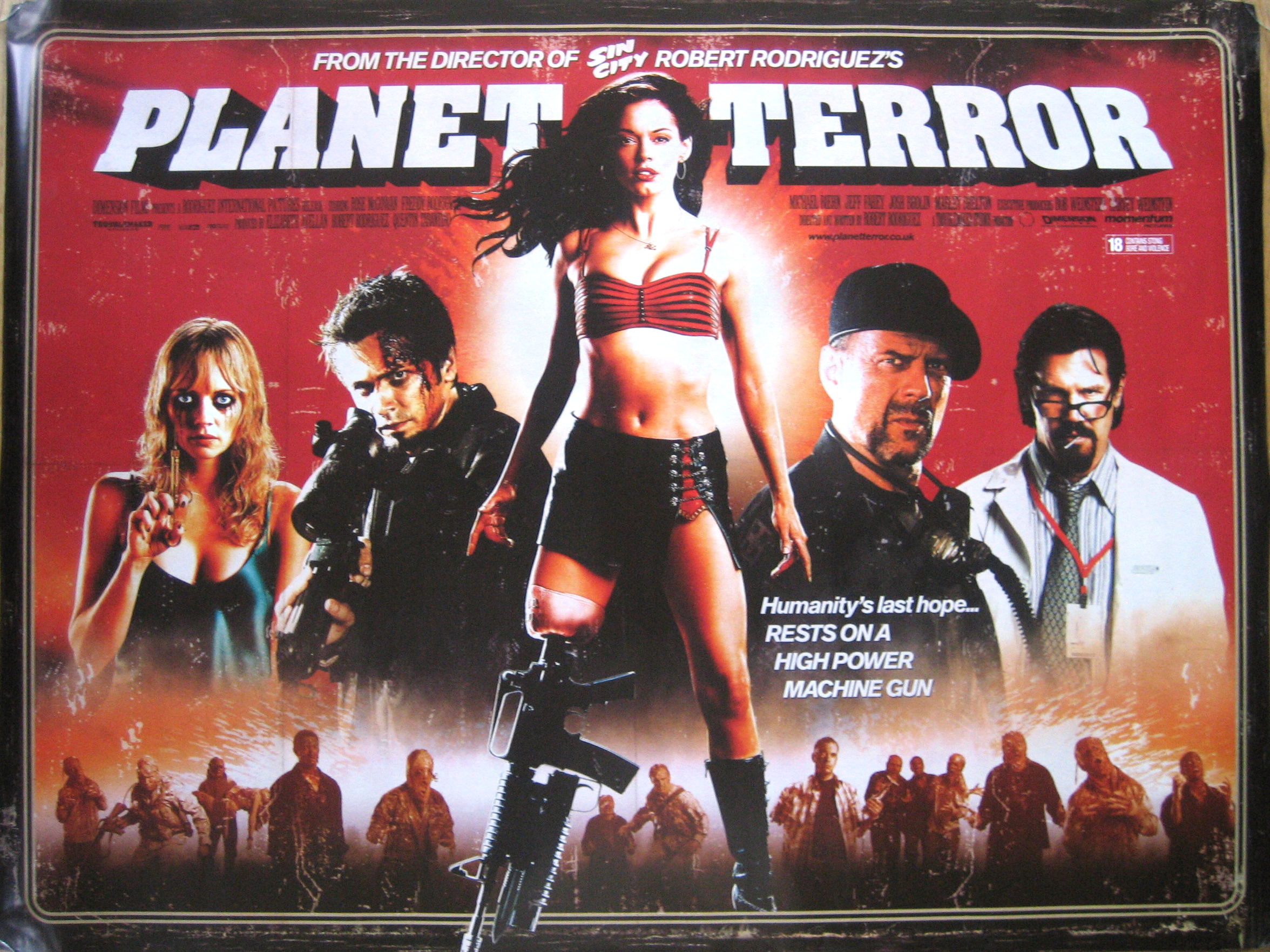 Grindhouse Planet Terror Death Proof Grindhouse Planet Terror