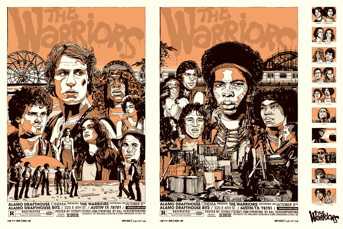The Warriors  Alamo Drafthouse Cinema The Warriors Movie Poster