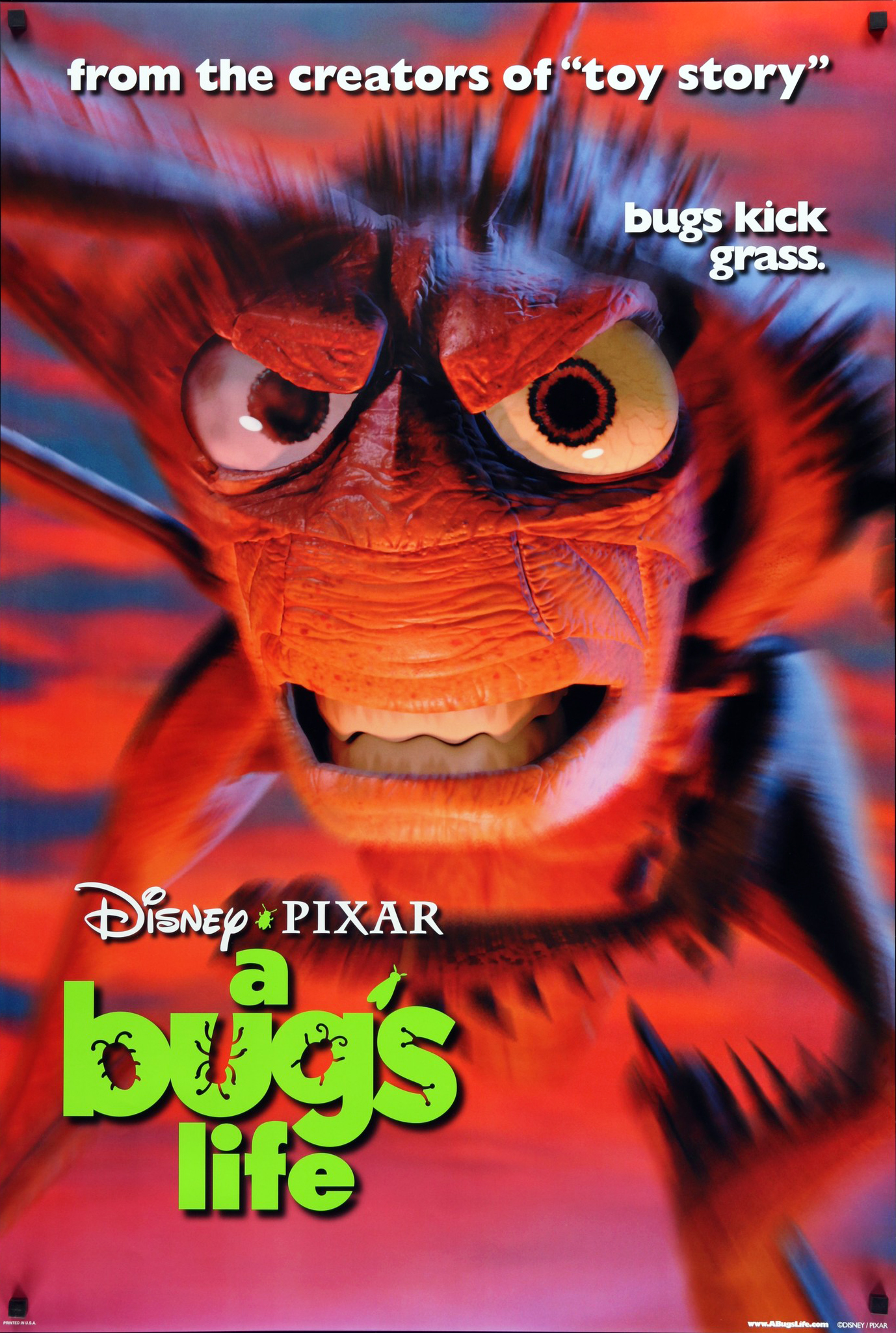 This is an image of Gorgeous A Bug's Life Poster